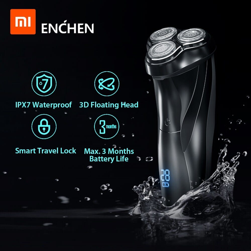43% OFF Xiaomi Enchen BlackStone 3 Electric Shaver,free shipping+$21.96