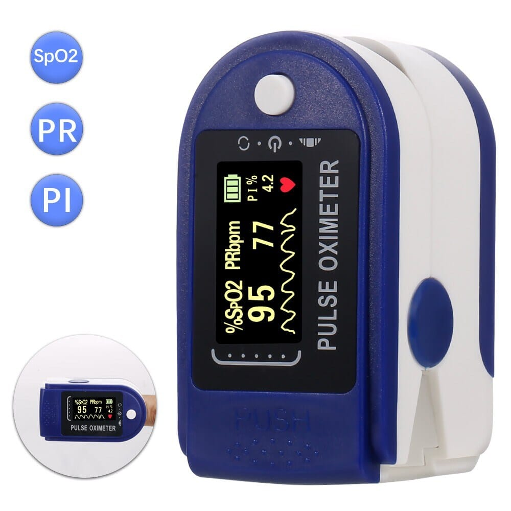 56% OFF Fingertip Pulse Oximeter Mini SpO2 Monitor Oxygen Saturation Monitor Pulse,free shipping+$10.80