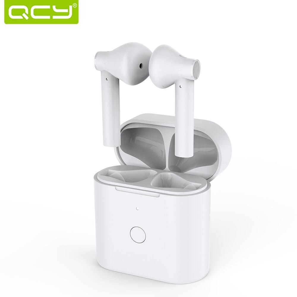 46% OFF QCY T7 TWS Bluetooth 5.1Headphones HiFi Stereo Music Earphones,free shipping+$22.52