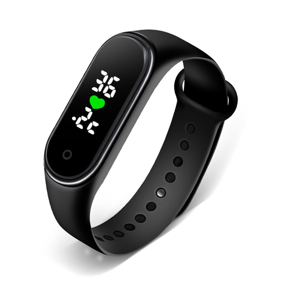 55% OFF M5 Smart Band Body Temperature Monitor Smart Bracelet,free shipping+$8.75