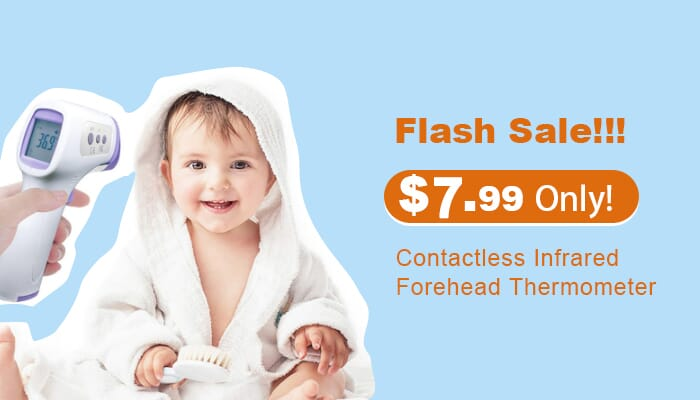$7.99 & Free Shipping on Non-contact Infrared Thermometer